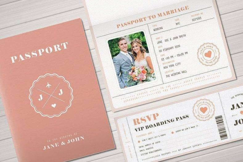 pastel passport marriage invitation template 788x524