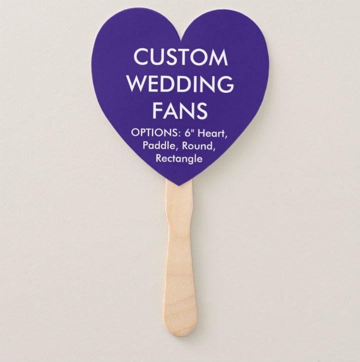 personalized-indigo-heart-wedding-fan-template