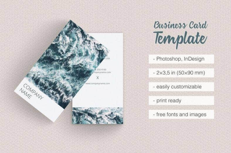 11 vertical business card designs templates psd ai indesign photographer vertical business card template friedricerecipe Choice Image