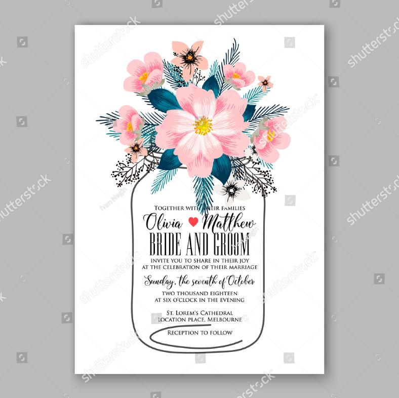 pink peonies wedding invitation format 788x786