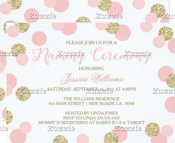 pink-and-gold-cradle-ceremony-invitation-template