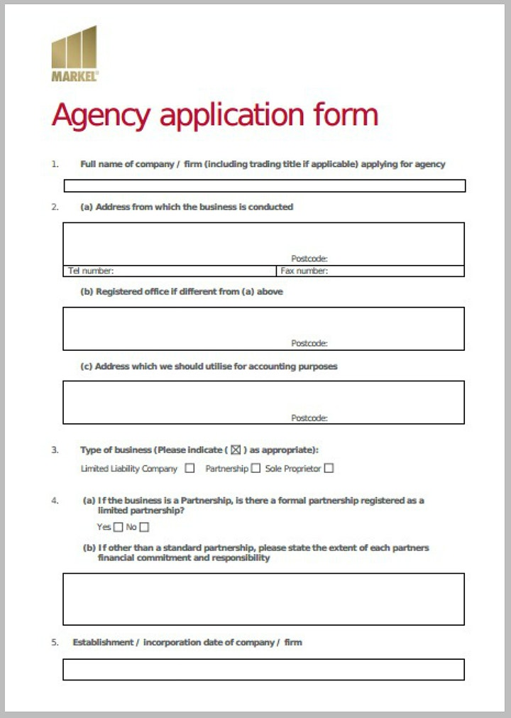 printable-agency-application-form-template