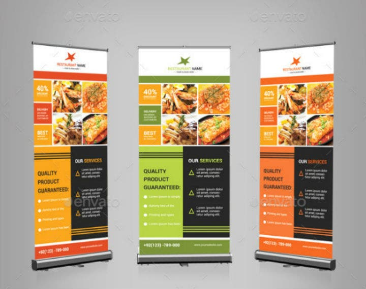 restaurant-services-rollup-banner-psd-template