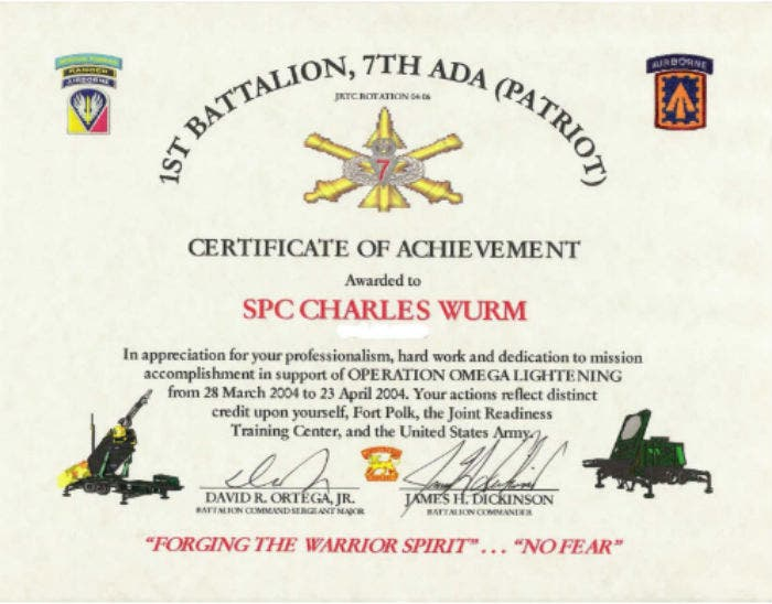 sample fresh army appreciation certificate template