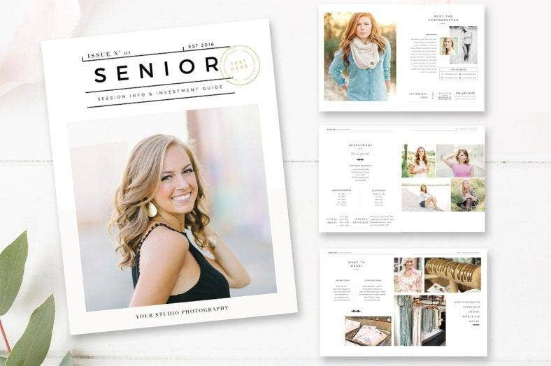 senior photography magazine template 788x524