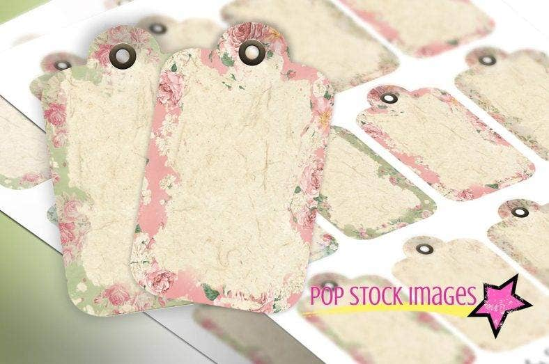 shabby chic printable hang tag template 788x523