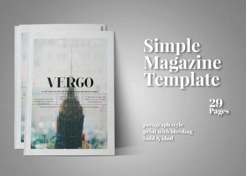 simple-indesign-magazine-template