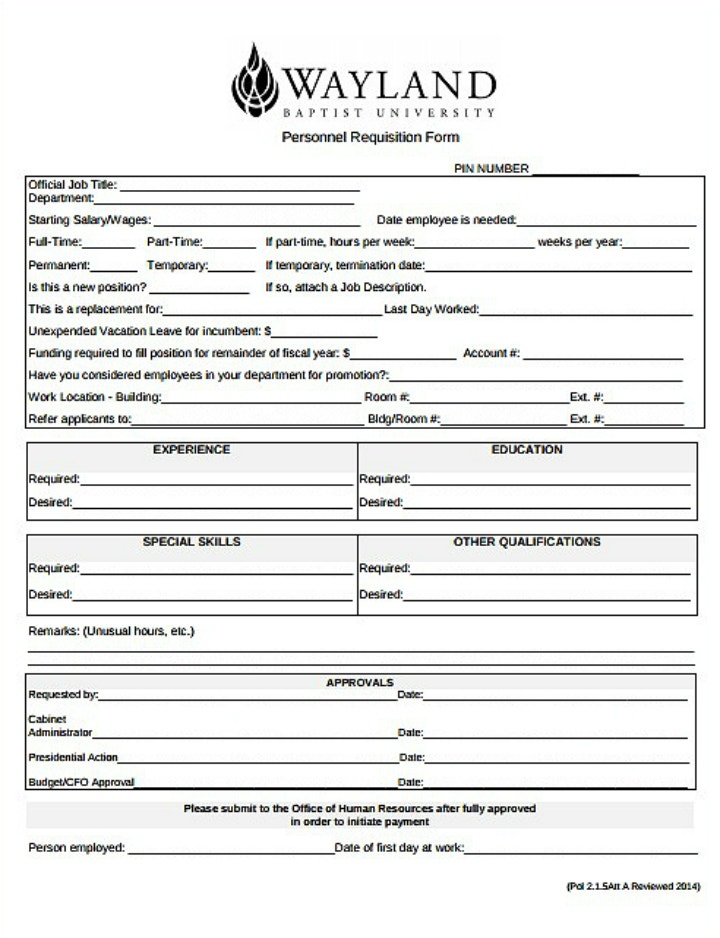 simple-personnel-requisition-form-template
