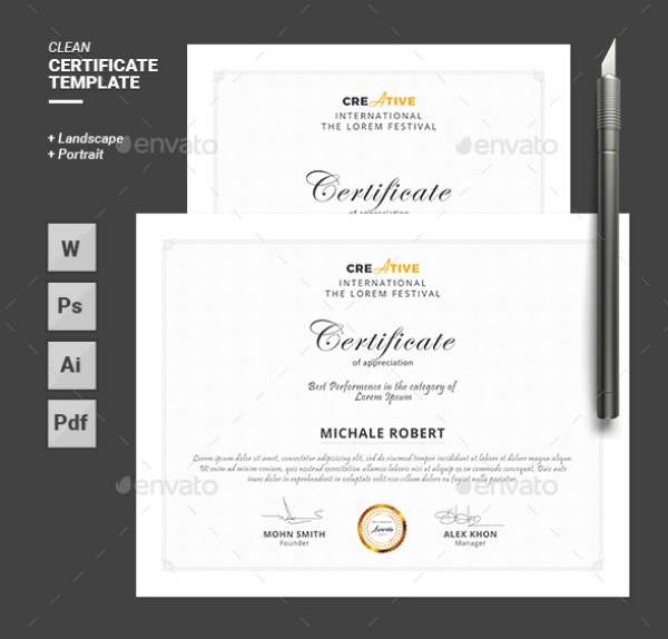 simple-and-clean-multipurpose-certificate