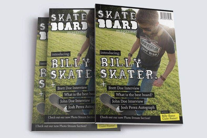 skateboard magazine template 788x524