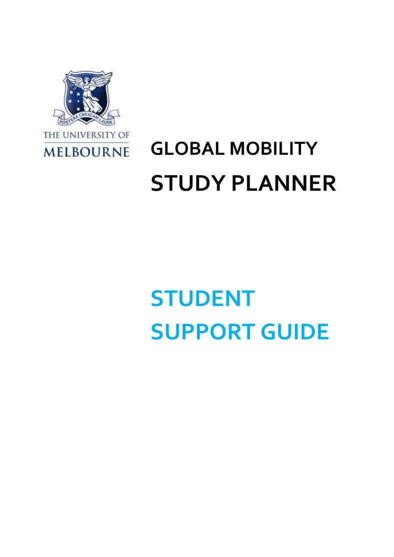 Study planner for students