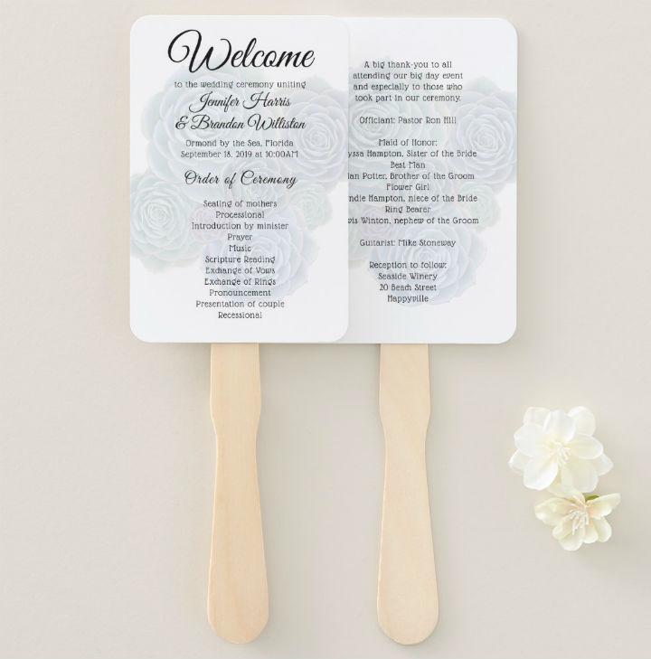 succulents-double-sided-wedding-fan-program-template