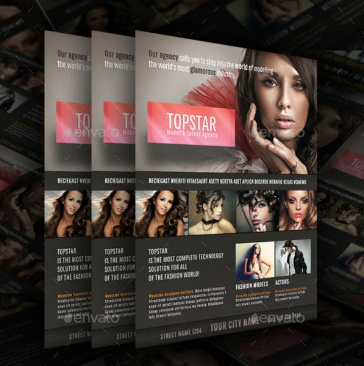 top-star-talent-agency-flyer-template
