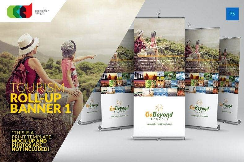 Tourism Roll-Up Banner