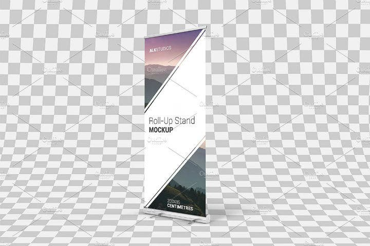 trade-event-roll-up-banner-psd-template