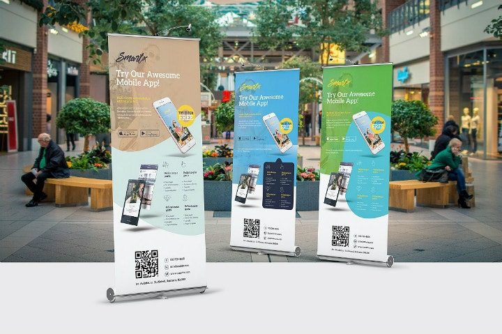 trendy-mobile-app-roll-up-banner-psd-template