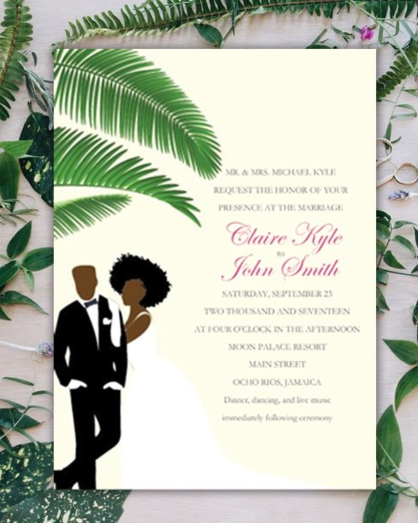 tropical-wedding-invitation-blank-template