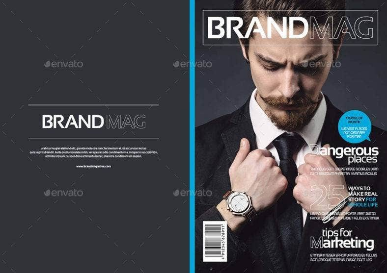 Universal Fashion Magazine Template