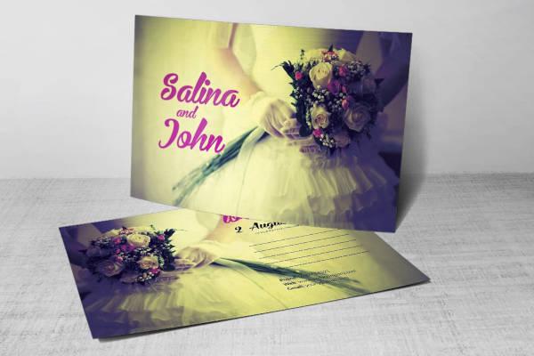 vintage-bridesmaid-postcard-template