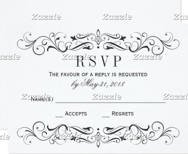 wedding-rsvp-postcards-elegant-flourish