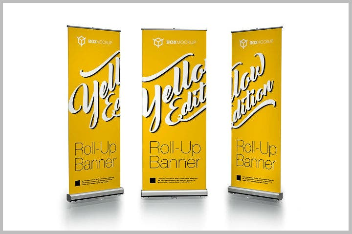 yellow-roll-up-banner-psd-template