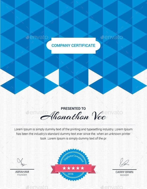 a4 certificate of appreciation for training template e1526347924389