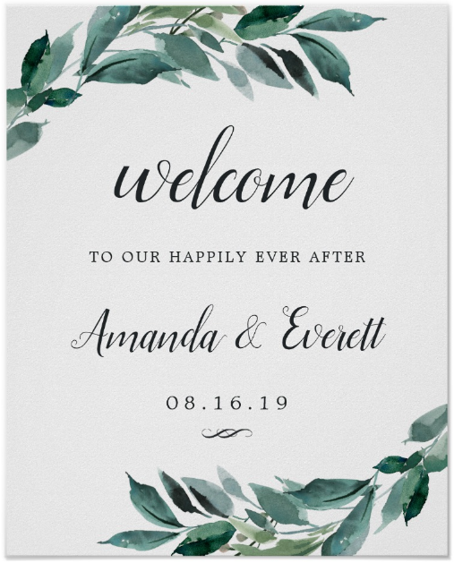 abundant-foliage-wedding-signage-template