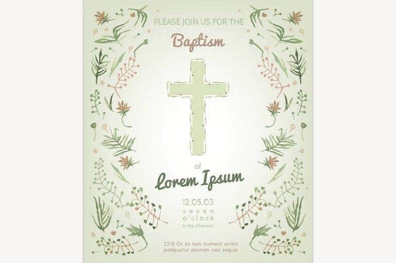 clean-christening-invitation-template