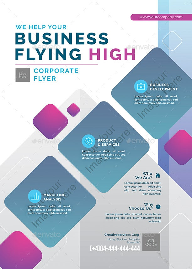 colorful-b2b-flyer-template