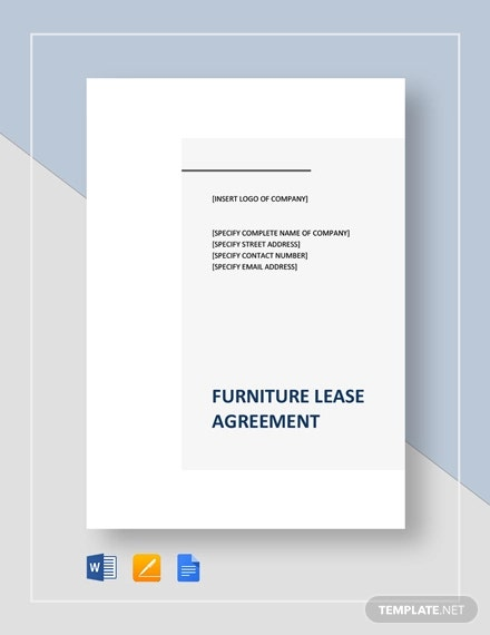 furniture lease agreement