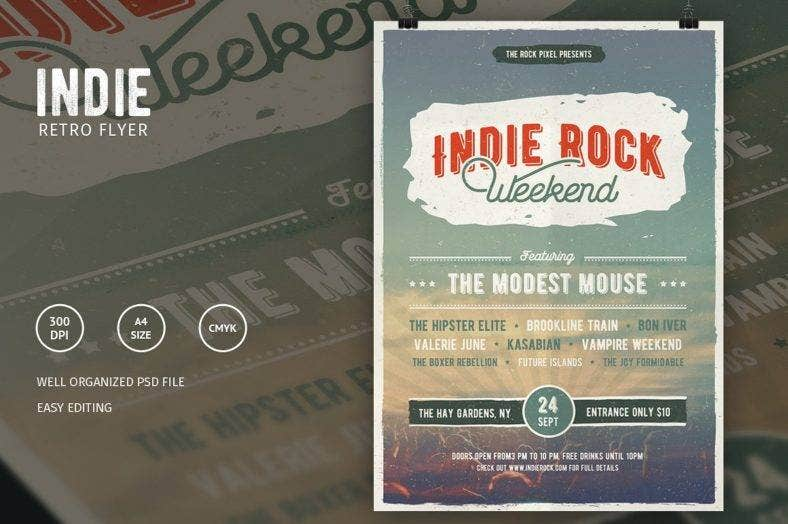 indie-rock-hipster-flyer-template