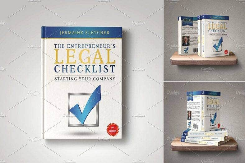 legal-checklist-entrepreneur-book-cover-template