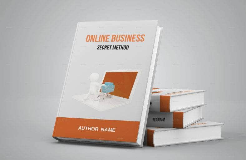 online-entrepreneur-book-cover-template
