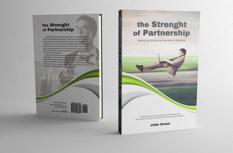partnership-entrepreneur-book-cover-template