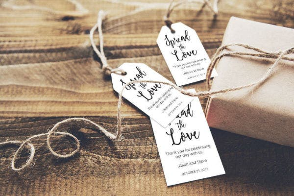 Wedding Favor Tags Set of 50 Mint To Be Tag Wedding Shower Tags Thank You Tag Wedding Tags Printed Tags