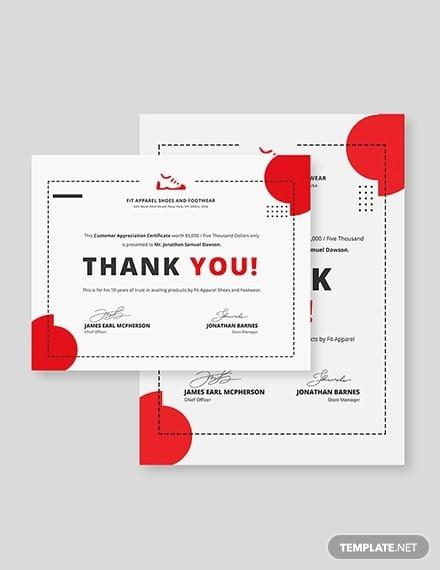 simple customer appreciation
