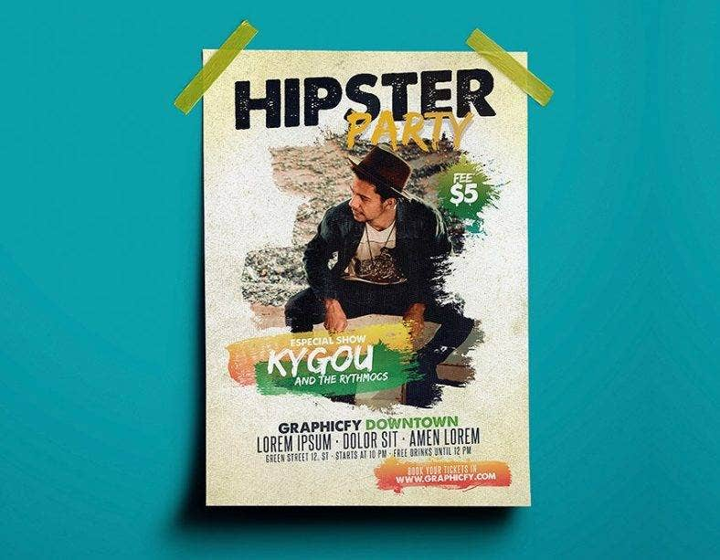simple-hipster-flyer-template
