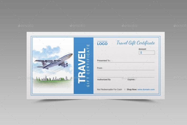 travel-graduation-gift-certificate-template