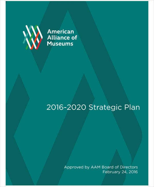American Museum Strategic Plan Sample