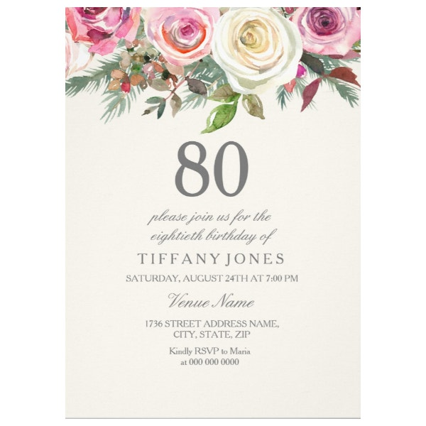 any-age-white-rose-floral-80th-birthday-invite