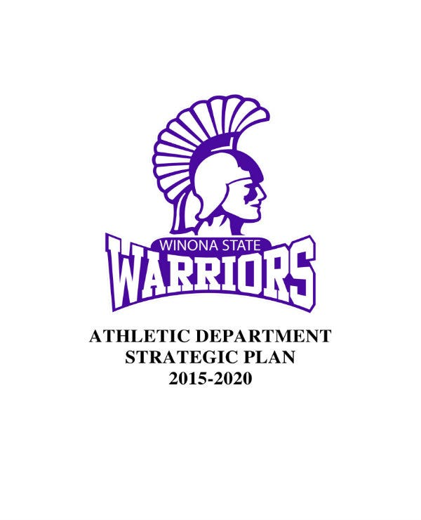 athletic department strategic plan 01