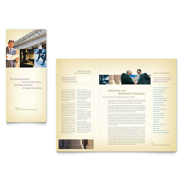 9 legal services brochure designs templates psd ai for Legal brochure template