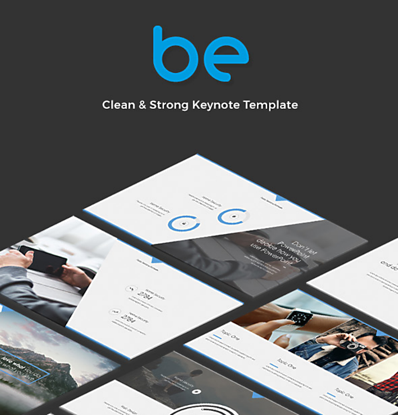Be Minimal Keynote Template