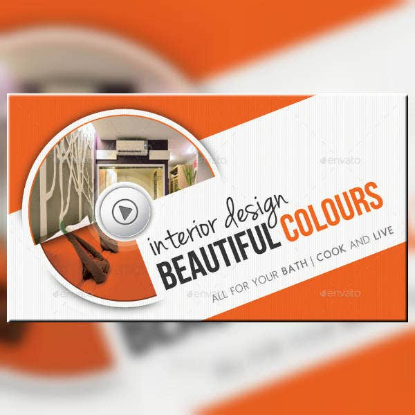 Beautiful Interior Design Business Card
