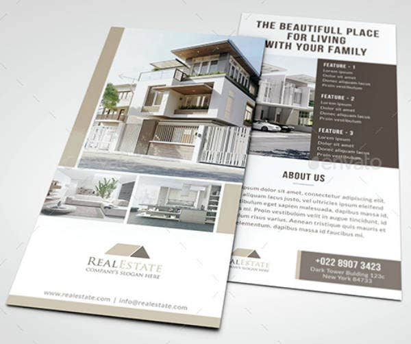 Beautiful Real Estate Rack Card