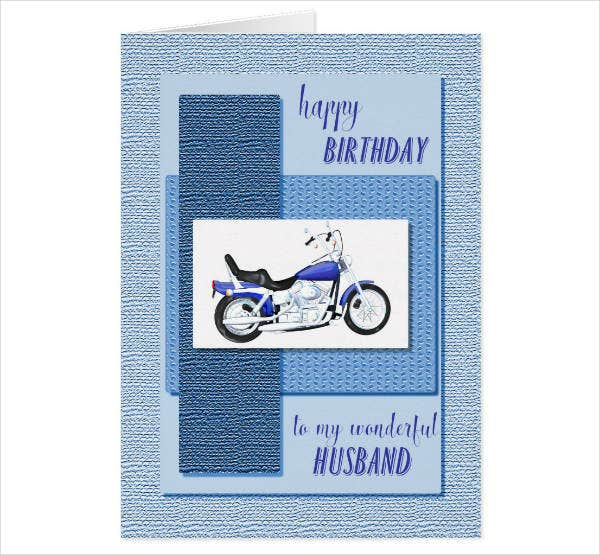 birthday card design for husband