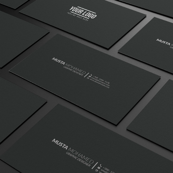 17 minimal business card designs templates psd ai free black minimal business card template colourmoves