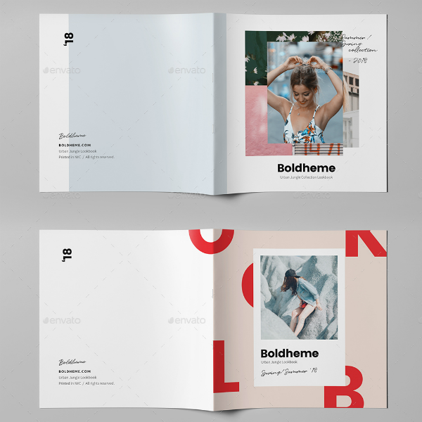Boldheme Modern Lookbook Template