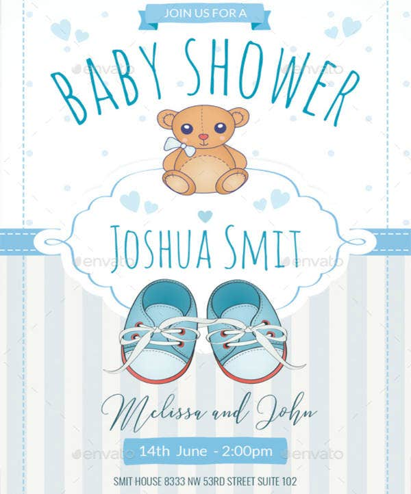 16 baby shower invitation templates for boys psd ai free boy baby shower invitation template filmwisefo