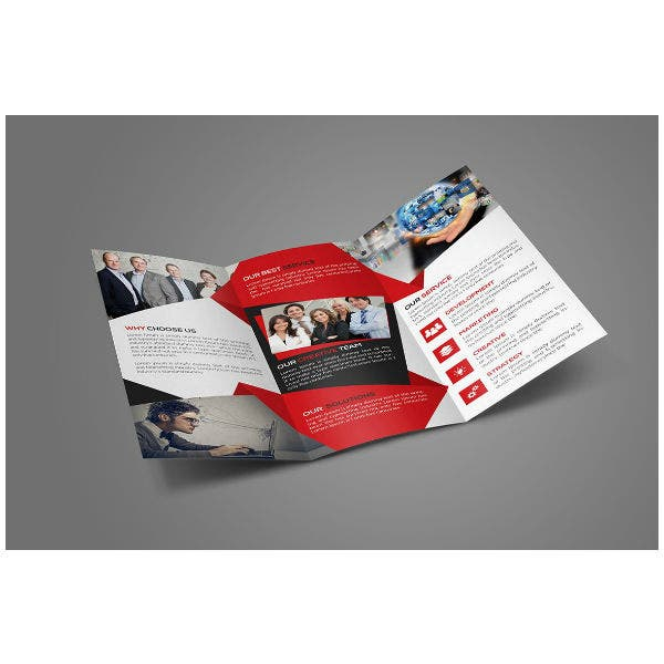 Brand Corporate Trifold Brochure